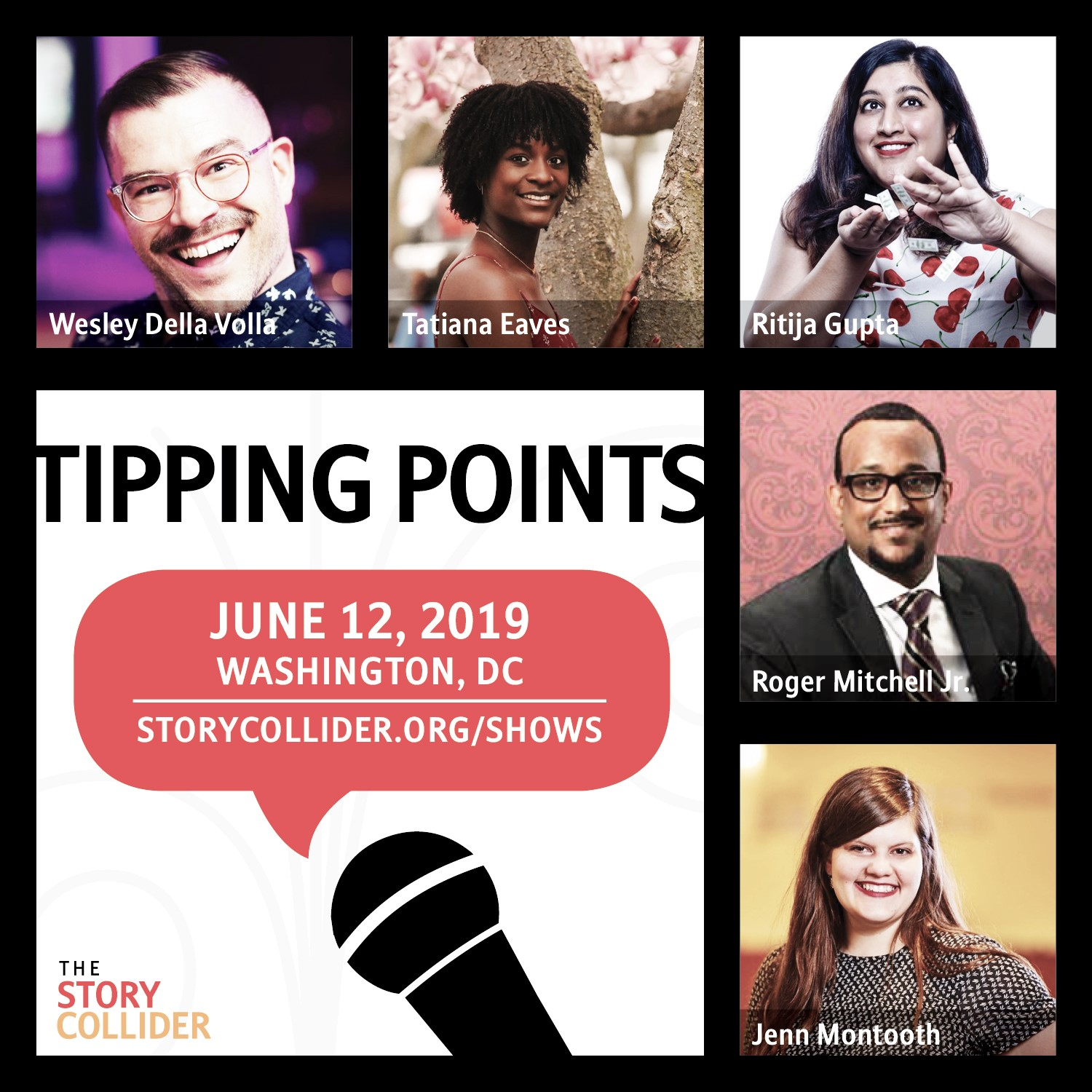 Story Collider: Tipping Points