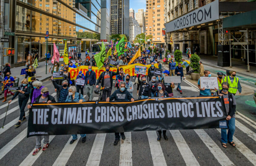 The Unequal Impact of Climate Change on Minorities
